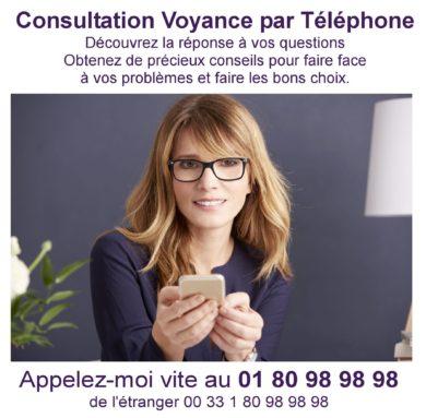 Consultation de voyance par téléphone