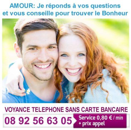 Voyance par téléphone au service de l'amour