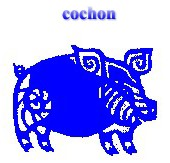 Horoscope tibétain cochon