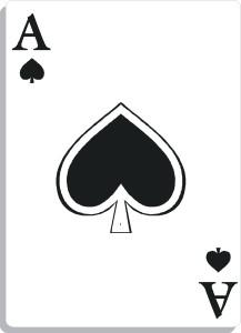 Apprendre la voyance avec jeu 32 cartes : l'as de pique