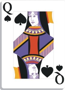 Apprendre la voyance avec jeu 32 cartes : la dame de pique