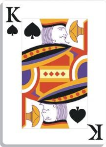 Apprendre la voyance avec jeu 32 cartes : le roi de pique
