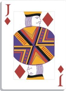 Apprendre la voyance avec jeu 32 cartes : le valet de carreau