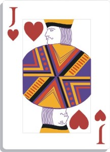 Apprendre la voyance avec jeu 32 cartes : le valet de coeur