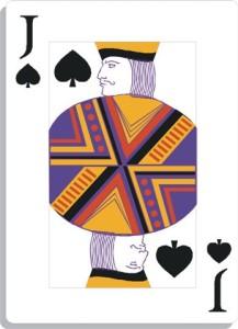 Apprendre la voyance avec jeu 32 cartes : le valet de pique