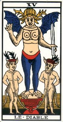 Apprendre la voyance par les tarots : Le Diable