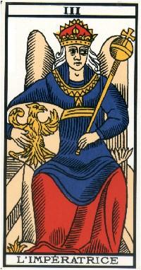 Apprendre la voyance par les tarots : L'Impératrice