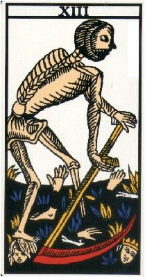 Apprendre la voyance par les tarots : La Mort