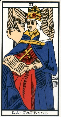 Apprendre la voyance par les tarots : La Papesse