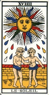 Apprendre la voyance par les tarots : Le Soleil