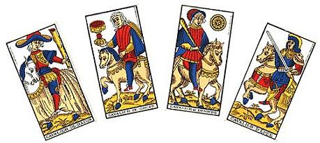voyance arcanes mineurs cavaliers